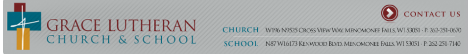Grace Lutheran Church & School logo