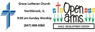 Open Arms-Northbrook/Grace Lutheran Church logo