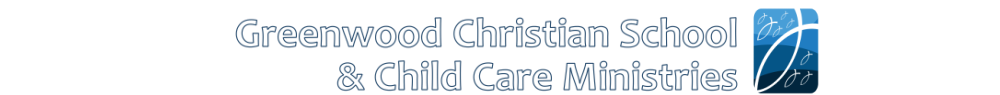 Greenwood Christian School and Childcare Ministries logo