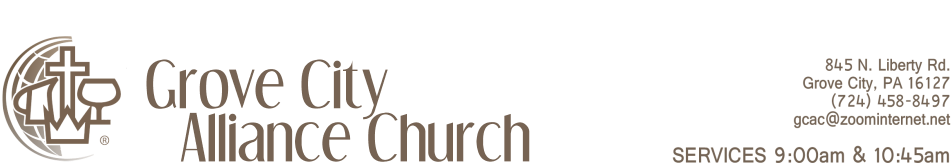 Grove City Alliance Church logo