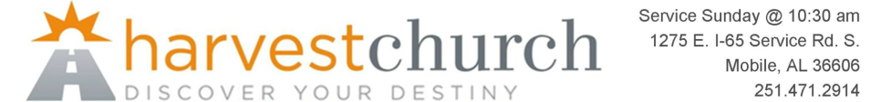 Harvest Church - Discover Your Destiny logo