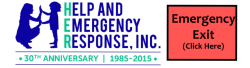 Help and Emergency Response Inc HER Shelter logo