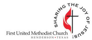 Henderson First United Methodist logo
