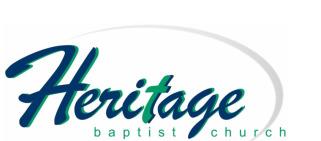 Heritage Baptist Church logo