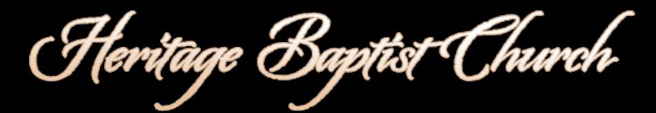 Heritage Baptist Church - Little Rock logo