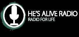 He's Alive Radio logo