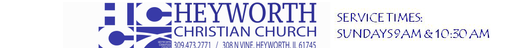 Heyworth Christian Church logo