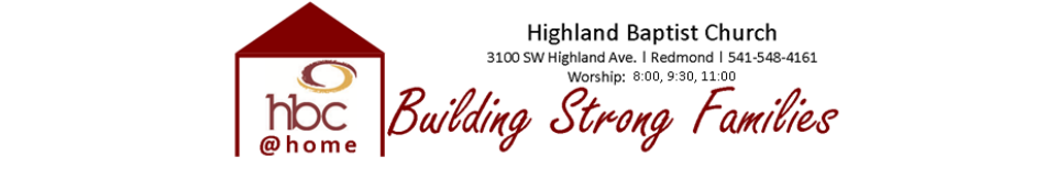 Highland Baptist Church logo