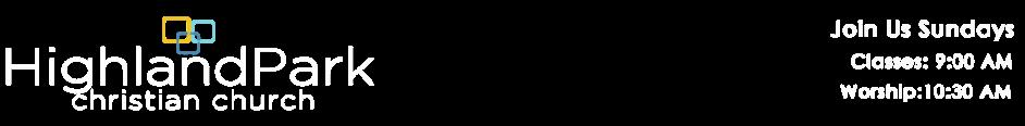 Highland Park Christian Church logo