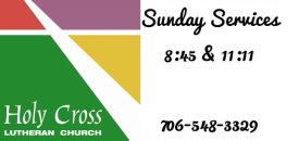 Holy Cross Lutheran Church logo
