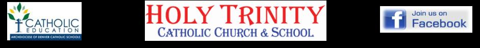 Holy Trinity Catholic School logo