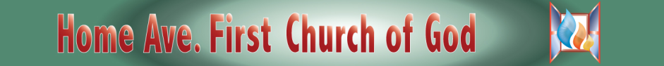 Home Ave First Church of God logo