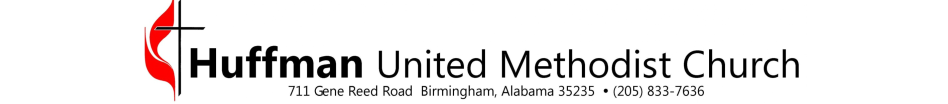Huffman United Methodist Church logo