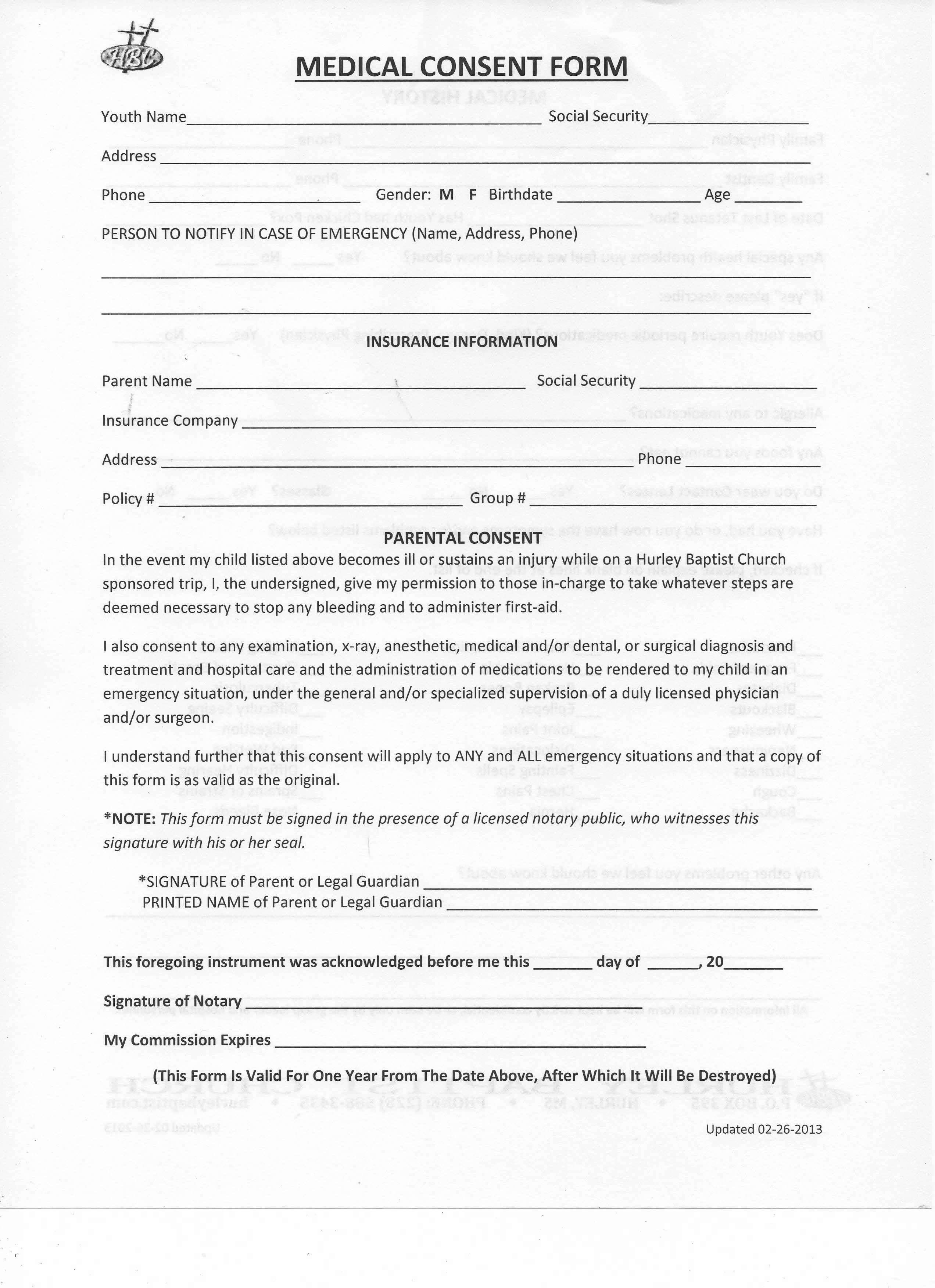 Nice Medical Consent Form (Front)   PDF File   Docx File   JPG File