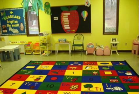 Immanuel Church Sunbeams Nursery School Classroom Photos