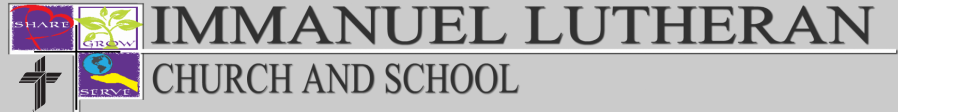 Immanuel Lutheran Church and School logo