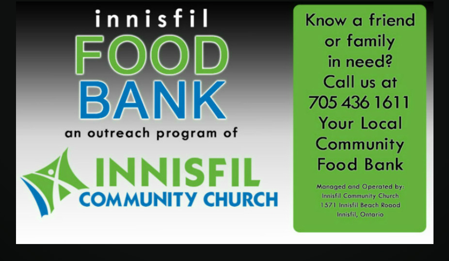 Innisfil Community Church Food Bank