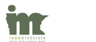 Iowa/Minnesota District of the Wesleyan Church logo