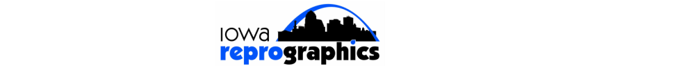 iowa reprographics, inc. logo
