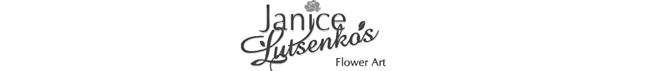 Janice Lutsenko's Flower Art logo