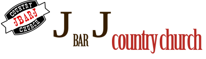 J bar J Country Church logo