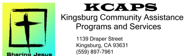 Kingsburg Community Assistance Program logo