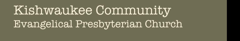 Kishwaukee Evangelical Presbyterian Church logo