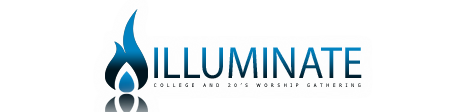 illuminate worship service logo