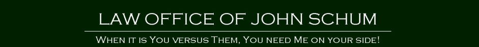 Law Office of John Schum logo
