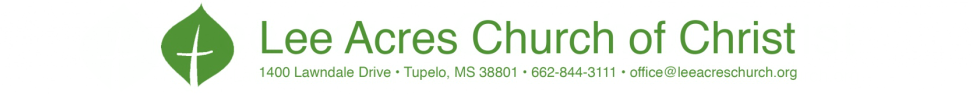Lee Acres Church of Christ logo