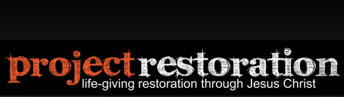 Legacy family ministries resources project restoration for Legacy restoration