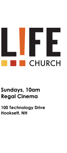 Life! Church, Greater Manchester NH logo