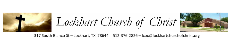 Lockhart Church of Christ logo