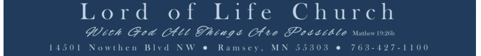 Lord of Life Church logo
