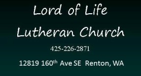 Lord of Life Lutheran Church logo