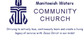 Manitowish Waters Community Church logo
