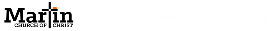 Martin Church of Christ logo