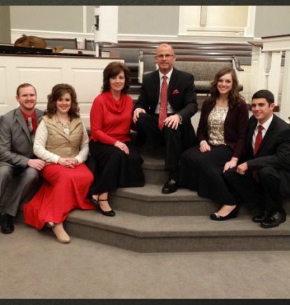Mayfield Creek Baptist Church Welcome Pastor Family