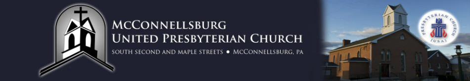 McConnellsburg United Presbyterian Church logo