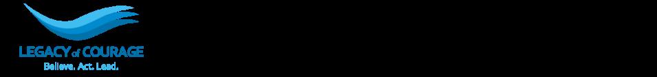 Legacy of Courage  logo