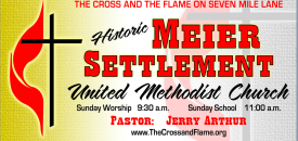 Meier Settlement United Methodist Church logo