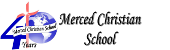 Merced Christian School logo