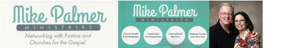 MIKE PALMER MINISTRIES logo