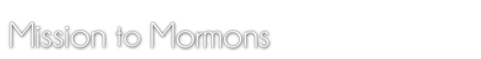 Mission to Mormons logo