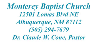 Monterey Baptist Church - Albuquerque, New Mexico logo