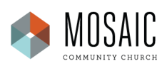 Mosaic Community Church logo