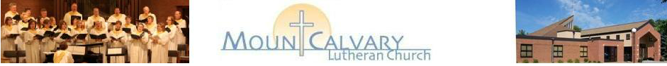Mount Calvary Lutheran Church logo