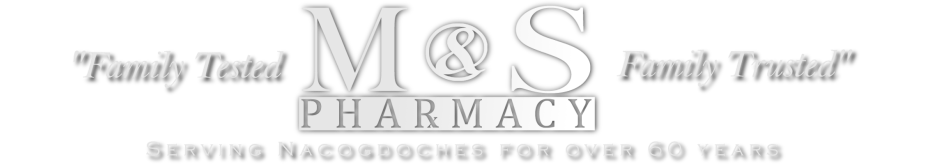 M&S Pharmacy | Nacogdoches, TX logo