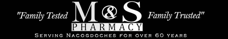 M&S Pharmacy   Nacogdoches, TX logo
