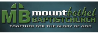 Mt Bethel Baptist Church logo